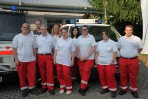 Das Rote Kreuz beim Stadtfest