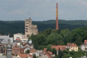 Schornstein Becker Brauerei