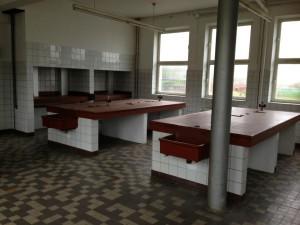 Das alte Labor, soll zum SFTZ umgebaut werden