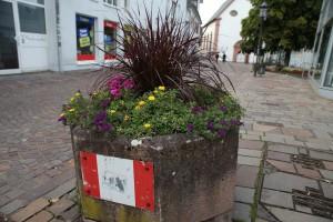 Städt. Blumenkübel