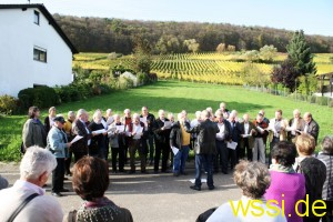 Begrüßunglied in Pleisweiler