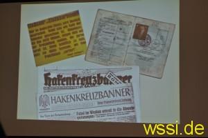 Nazi-Zeitungen und andere historische Fundstücke