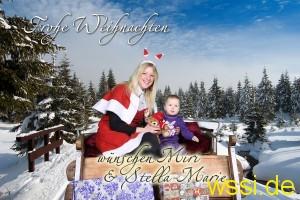 WSSI auf dem Rohrbacher Weihnachtsmarkt