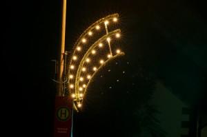 Weihnachtsbeleuchtung in Rentrisch