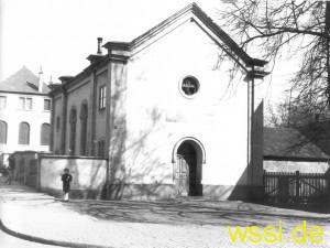 Synagoge  - Foto Stadtarchiv