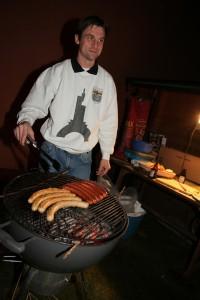 Einleiten der Grill Saison bei den Becker Buwe (Foto: Benjamin Noll)