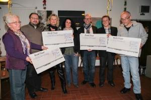 Spendenübergabe Rohrbacher Weihnachtsmarkts