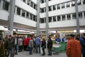 Biosphärenmarkt Kuppelsaal Tourismusbörse  (Foto: Saarpfalz-Touristik)