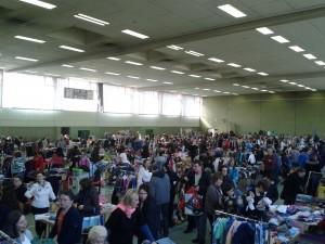 Secondhand-Markt des TV 66 in der Rohrbachhalle (Foto: Maria Müller-Lang)