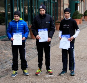 Vlnr: Chris Ziehmer, Felix Schwarz und Jakob Breinlinger Foto: Frank Schwarz