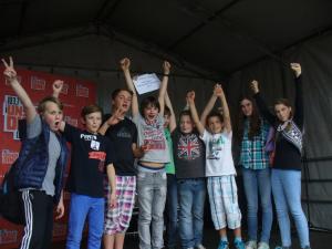 Gewinner Klassenwettbewerb (Foto: Stadtmarketing)