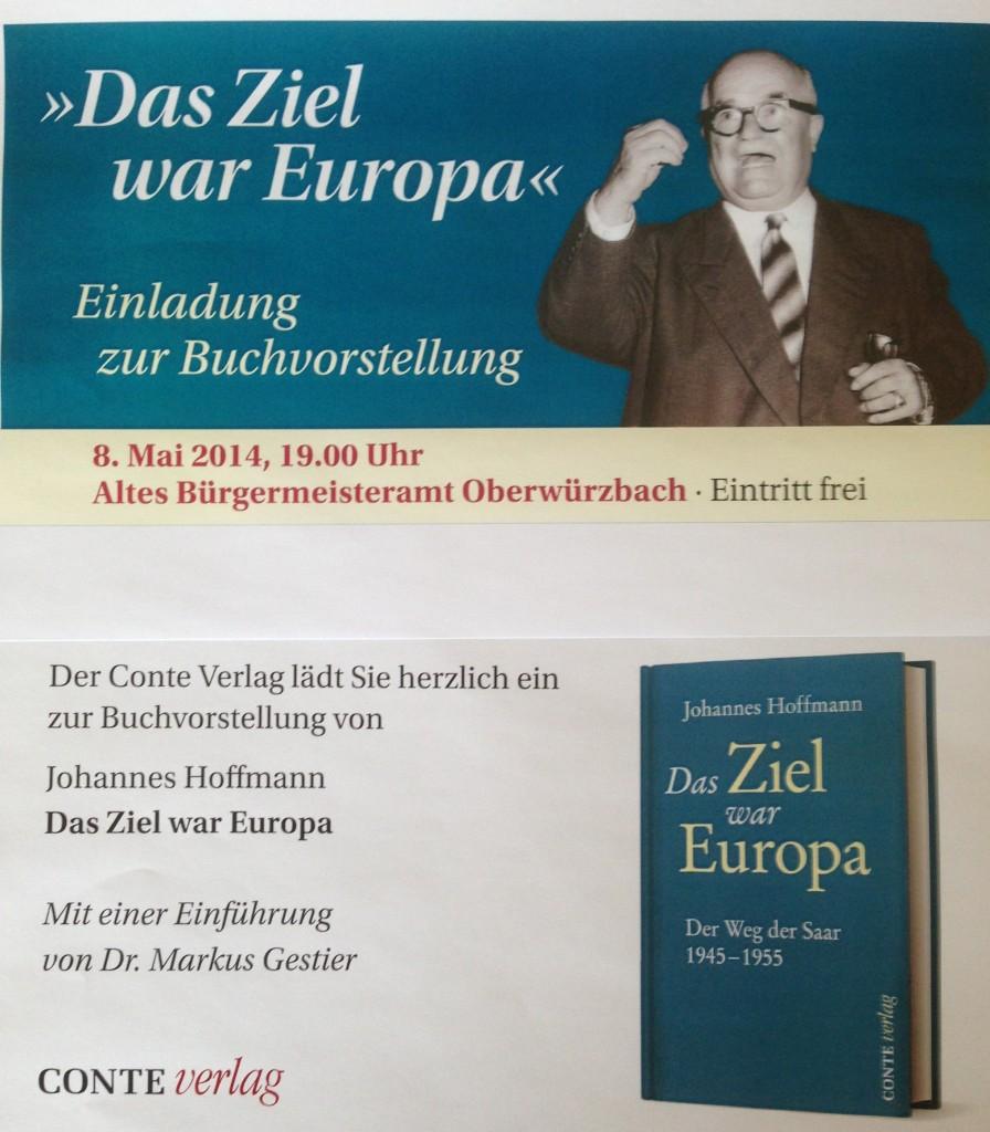 Einladung Buchvorstellung Oberwürzbach