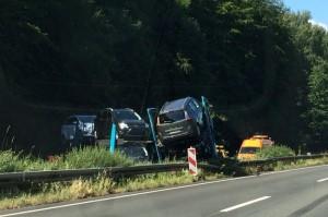 Unfall auf der A6