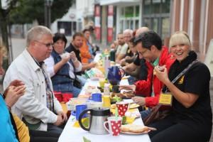 St. Ingbert frühstückt