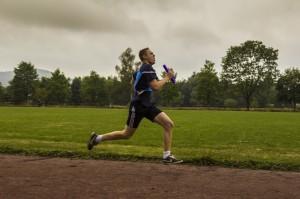 Beim 1500 m - Staffellauf war Kondition und Schnelligkeit gefordert. (Foto: Tim Blank, CC BY-SA)
