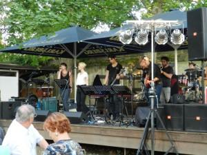 Leibniz-Rock-Ensemble in der Luschd