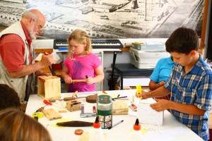 """Ein Tag für Kinder bei der """"Initiative Alte-Schmelz"""" (Foto: Wolfgang Philipp)"""