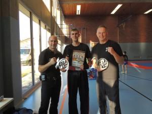 von links: Michael Umlauf , Fabian Frühauf , Dietmar Lindegaard