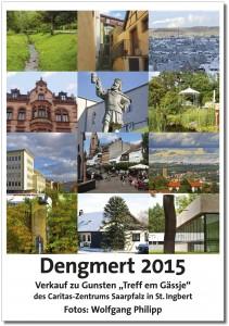 """Titelblatt Benefizkalender """"Dengmert 2015"""""""