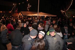 Der Rohrbacher Weihnachtsmarkt am Abend