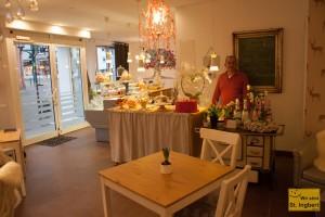 Marie´s Café in der Ludwigstraße