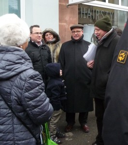 Photo (von links): Frank Luxenburger (Vorsitzender), Ursula Schmitt (stv. Vorsitzende), Jürgen Marx (stv. Vorsitzender), Klaus Friedrich.
