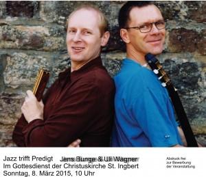 Jazz trifft Predigt (Foto: Agentur)