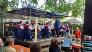 """Der Musikverein Rohrbach in der """"Luschd"""" (Foto: Edgar Omlor)"""