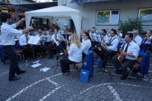 Musikverein Rentrisch beim Dorffest