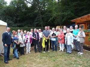 "Waldfest der ""Fidelen Gesellen"" (Foto: Wolfgang Philipp)"