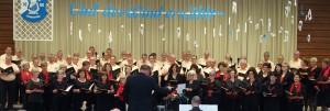 MGV Josefstal und Chor 98 bei gemeinsamen Auftritt in Ommersheim (Foto: Wolfgang Philipp)