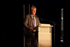 Hans Wagner bei der Eröffnungsrede der Pfamme