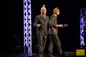 Das skurrile Duo Ulan & Bator (Foto: Frank Leyendecker)