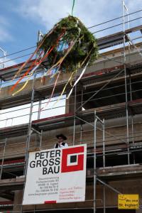 Richtfest an der neuen Verwaltung der Stadtwerke (Foto: Frank Leyendecker)
