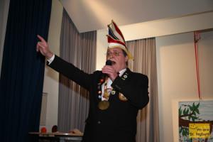 Präsident der Holzhauer: Manfred Traudt (Foto: Frank Leyendecker)