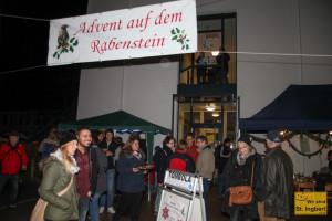 Adventsmarkt auf dem Rabenstein (Foto: Frank Leyendecker)