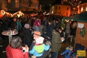 Weihnachtsmarkt in Hassel (Foto: Frank Leyendecker)