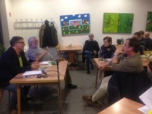 offener Dialog zur Müllpolitik (Foto: Frank Leyendecker)