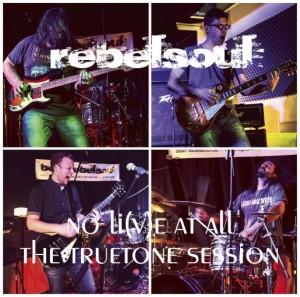 Rebelsoul - no li(v)e at all Cover