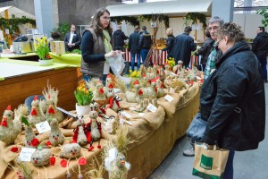 Biosphärenmarkt im Kuppelsaal (Foto: Michael Haßdenteufel)