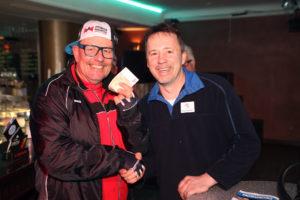 Mallorca-DJ Andy Luxx und Bernd Rubeck (Autohaus Rubeck) (Foto: Frank Leyendecker)