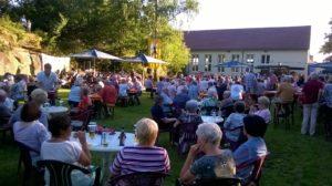 Sommerkonzert in der Luschd (Foto: Annette Omlor)