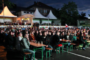 Public Viewing in St. Ingbert (Foto: Frank Leyendecker)