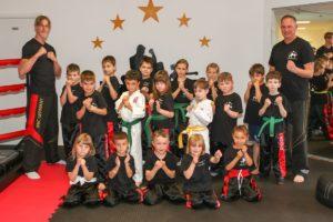 Erste Prüfung bei Martial Art & Sports Gym (Foto: Norbert Ramelli)