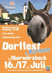 Dorffest Oberwürzbach 2016