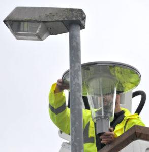 LED Straßenlaterne (Foto: Gaschott)