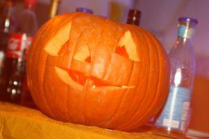 Kürbis an Halloween (Foto: Frank Leyendecker)