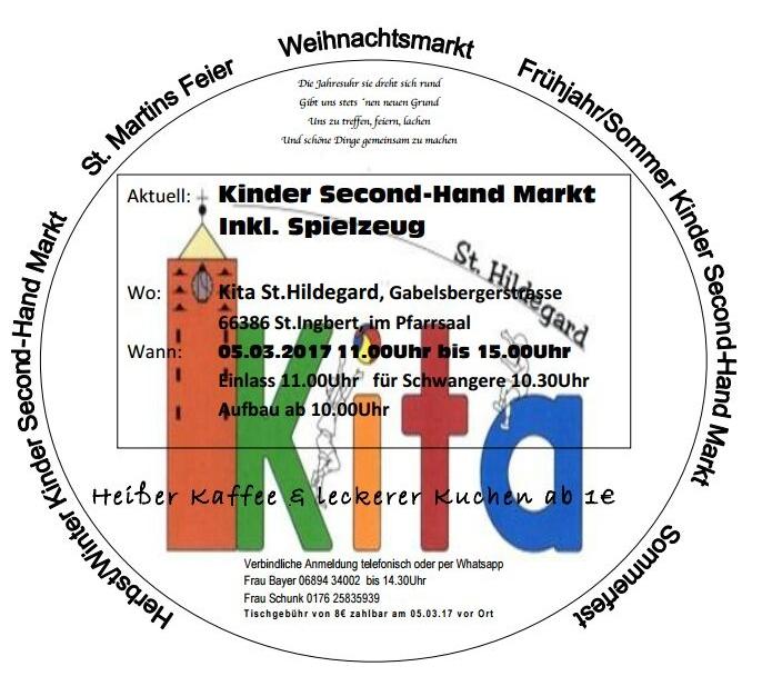 Kinder Second-Hand Markt