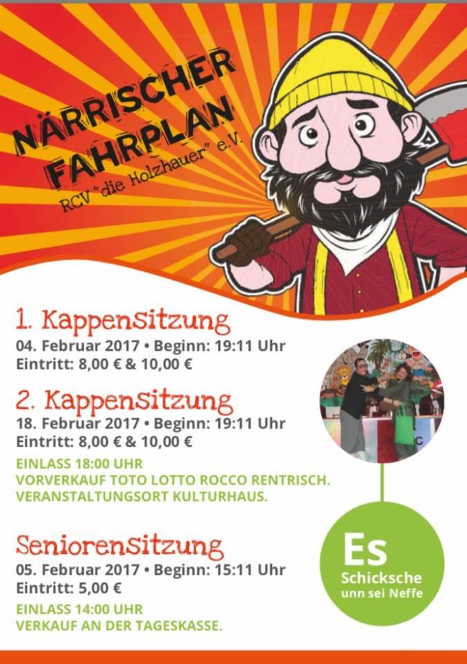 """1. Kappensitzung """"Die Holzhauer"""""""