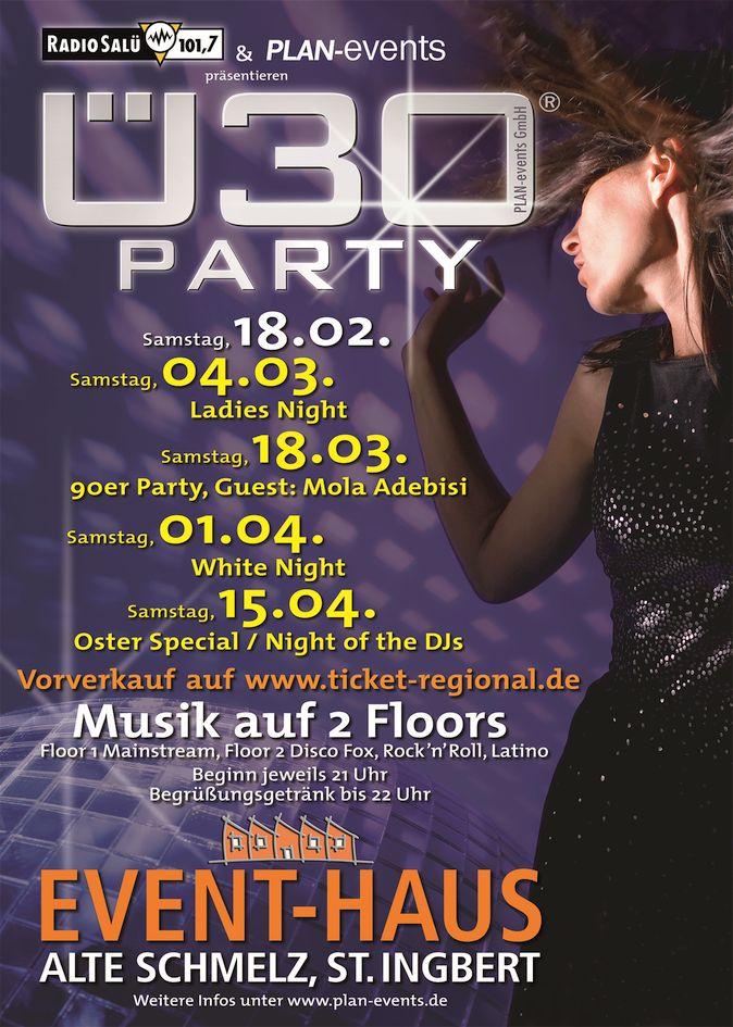 Ü30 Party Hexennacht Special